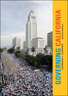 Governing California By Giventer, Lawrence L.